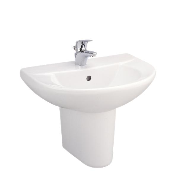 Chậu rửa treo tường chân ngắn C014-C4201