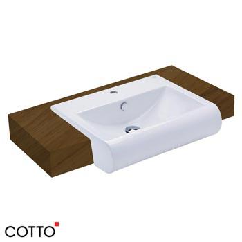 Chậu rửa bán âm bàn Cotto C02237