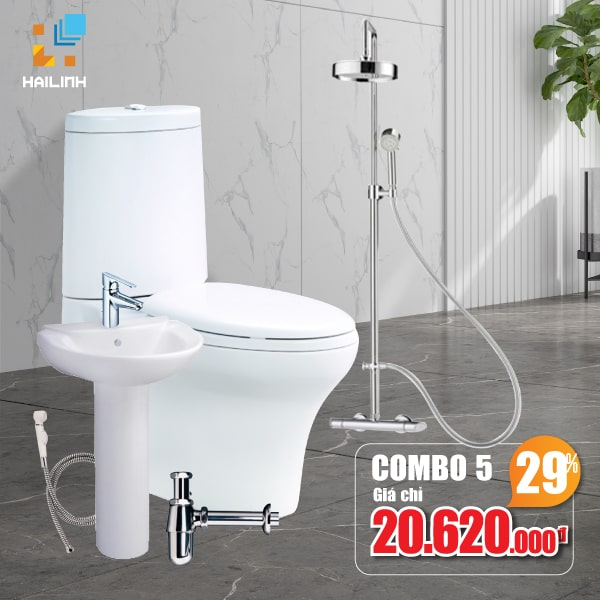 Combo thiết bị vệ sinh Cotto 05