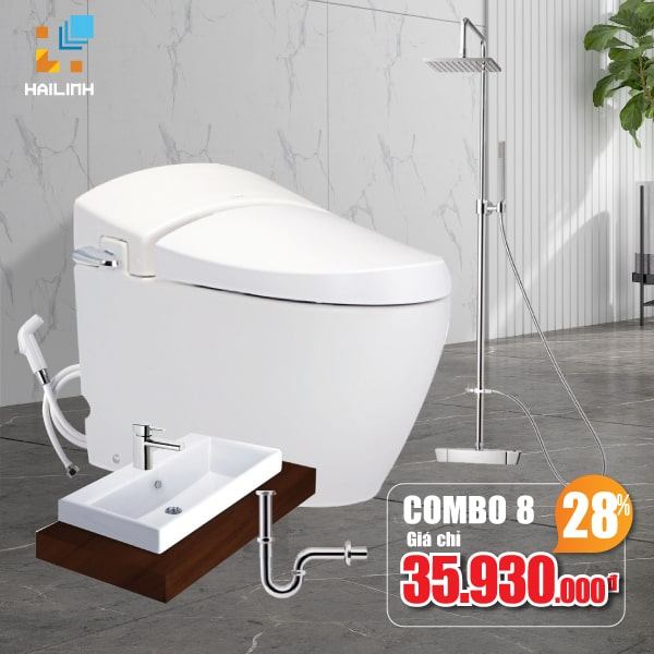 Combo thiết bị vệ sinh Cotto 08