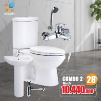 Combo thiết bị vệ sinh Cotto 02