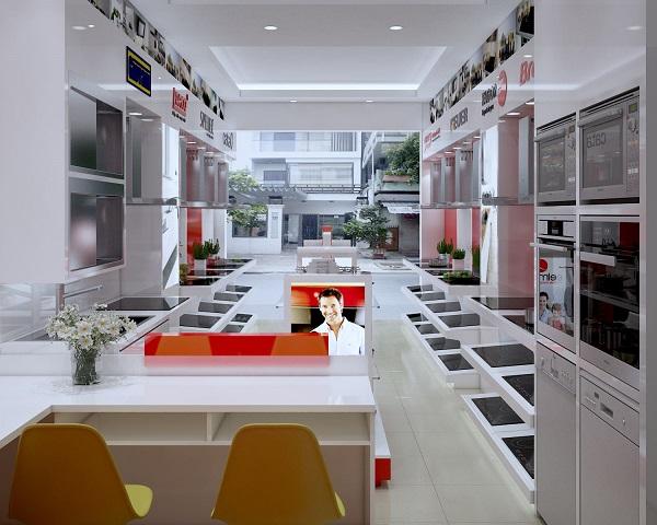Tặng Vouchet giảm giá hấp dẫn nhân dịp khai trương showroom Bếp mới