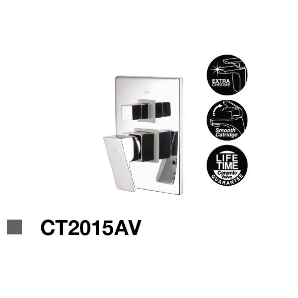 Sen tắm nóng lạnh âm tường CT2015AV