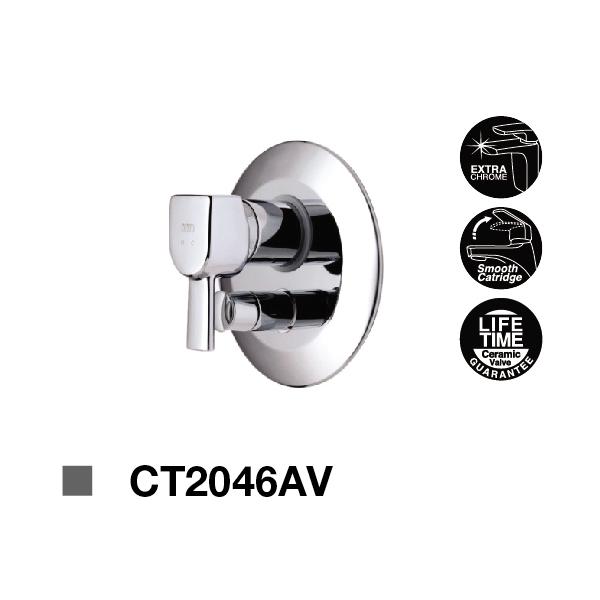 Sen tắm nóng lạnh âm tường CT2046AV