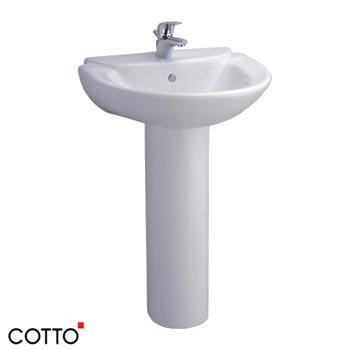 Chậu rửa treo tường chân dài C0237/C411