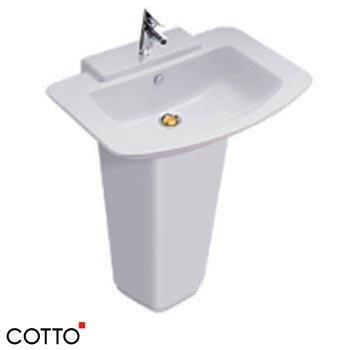 Chậu rửa treo tường chân dài C01467/C4116