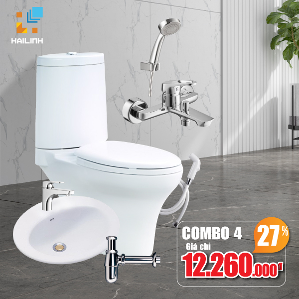 Combo thiết bị vệ sinh Cotto 04