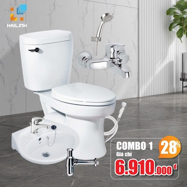 Combo thiết bị vệ sinh Cotto 01