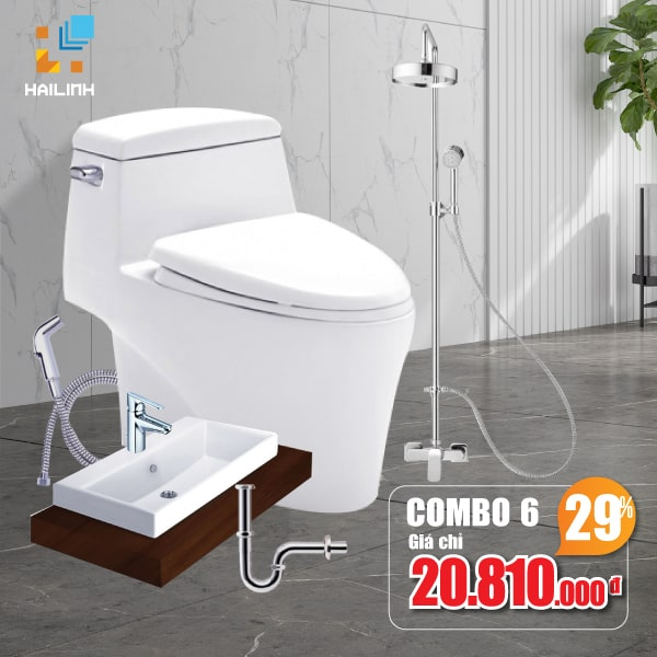 Combo thiết bị vệ sinh Cotto 06