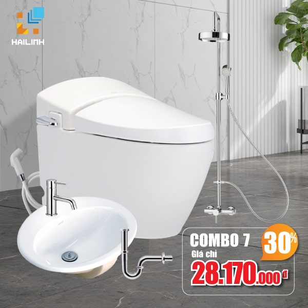 Combo thiết bị vệ sinh Cotto 07
