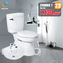 Combo thiết bị vệ sinh Cotto+Belli 01
