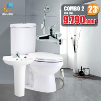 Combo thiết bị vệ sinh Cotto+Belli 02