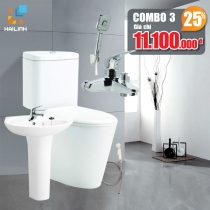 Combo thiết bị vệ sinh Cotto+Belli 03