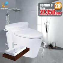 Combo thiết bị vệ sinh Cotto+Belli 08